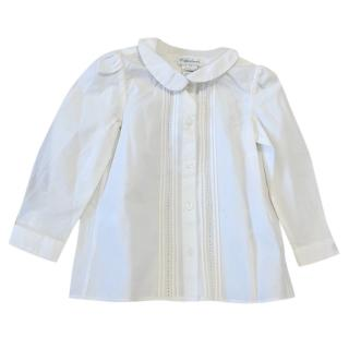Ralph Lauren Baby Girl White Blouse