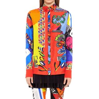 Versace vogue print tribute shirt