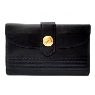 Yves Saint Laurent Vintage Black Leather Wallet