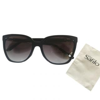 Gucci black cat eye sunglasses