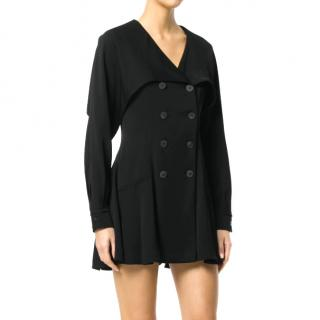 J.W Anderson Black Double Breasted Skater Dress