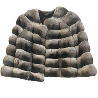 803f6fded031 Costa Dina Chinchilla fur coat