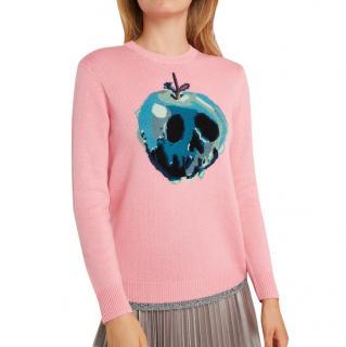 Coach x Disney Wool-Cashmere Poison Apple-Intarsia Jumper