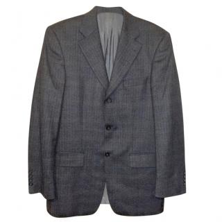 Mario Barutti Wool & Cashmere Herringbone Blazer