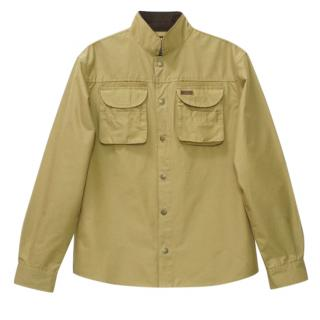 PENFIELD Trailwear Functional Fabric 60/40 Mens Beige Shirt Jacket
