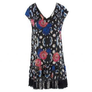 Athena Procopiou floral-print silk crepe de Chine dress