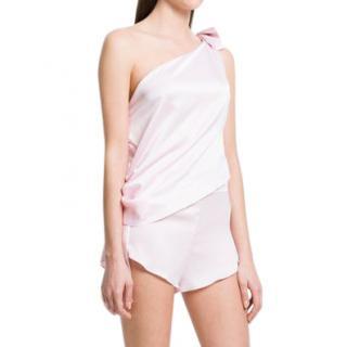 Maguy de Chadirac One Shoulder Pyjama Set