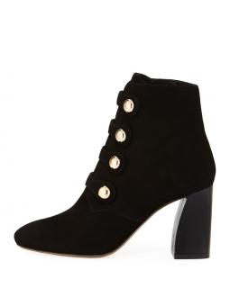 Tory Burch black suede marisa strappy boots