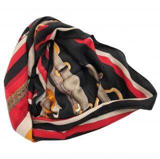 Hermes Coaching Scarf 140