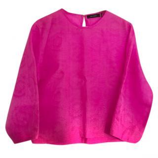 Isabel Marant silk pink blouse