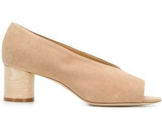 Aeyde x Lucy Williams Sand Suede Lucy Pumps