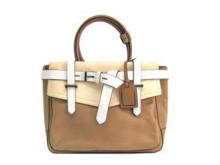 Reed Krakoff Boxer Tan Leather Tote Bag