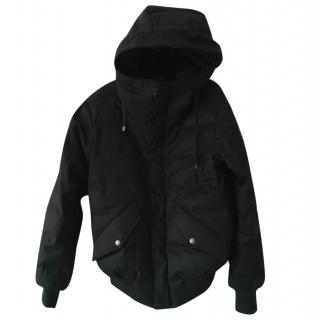 DOLCE & GABBANA  NEW Men's Hooded Quilted Wool Jacket