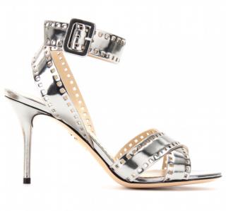 Charlotte Olympia Take 85 Metallic Sandals