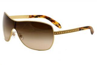Tiffany & Co. TF3035 Brown & Shield Sunglasses