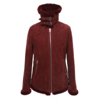 Closed Soft Lambskin Red Jacket