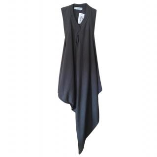 VIktor & Rolf long line asymmetric wool jumper