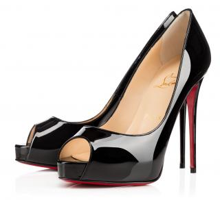 Christian Louboutin Very Prive Patent 120 Pumps