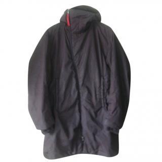Prada Men's Nylon Hooded Coat