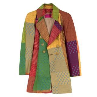 Vintage Christian Lacroix patchwork jacket