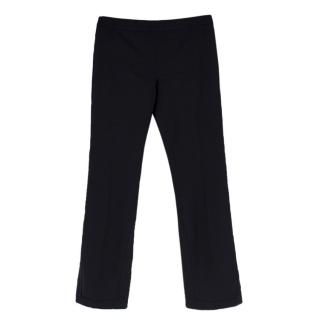 Alexander McQueen Vintage Black Straight Leg Trousers