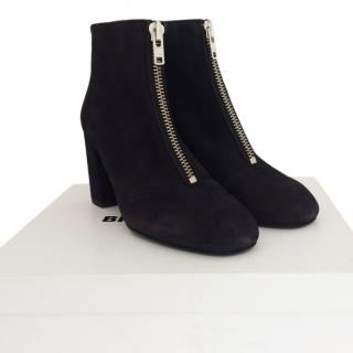 Bimba Y Lola zip front ankle boots