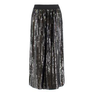Bellerose sequin-embellished midi skirt