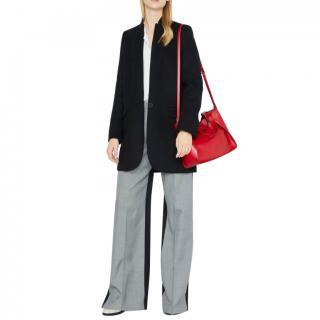 Stella McCartney Navy Wool Blend Bryce Coat - Current Season