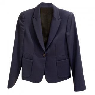 Miu Miu Navy Wool Jacket