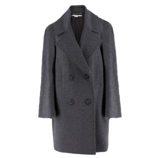 Stella McCartney Grey Wool Coat