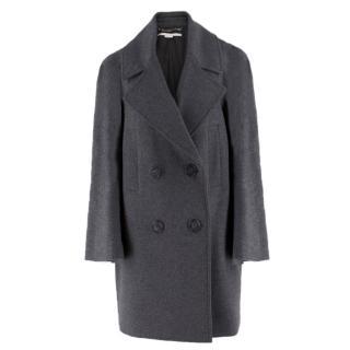 Stella McCartney Grey Wool Coat