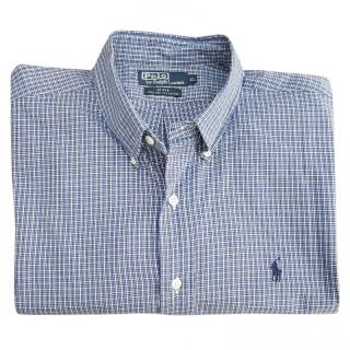 Ralph Lauren Blake 100% Two-Ply Cotton Shirt - XL