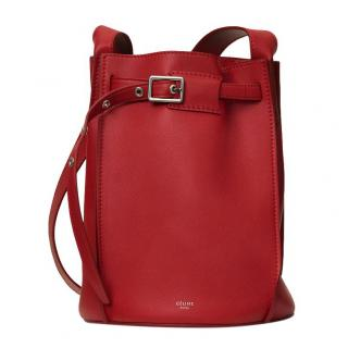 a6a33a9bae74 Celine Big Bag Bucket in Red