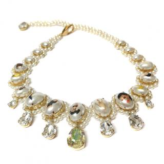 Bijoux De Famille Crystal 'Reality' Necklace
