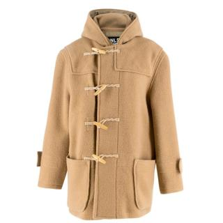 NLST Army Brown Toggle Wool Coat