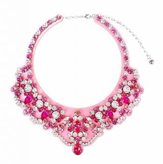 Shourouk Legend Rose Statement Necklace