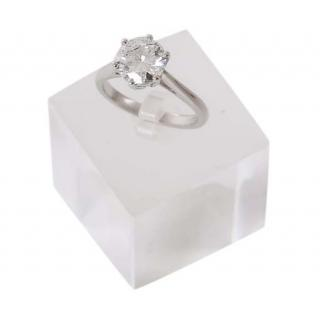 Bespoke 2.03ct solitaire diamond set platinum ring