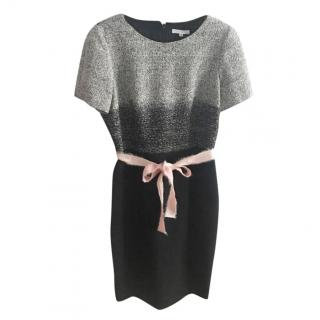 Paule Ka wool blend miidi dress