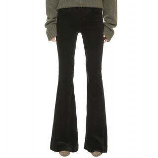 J Brand Green Cord Flares