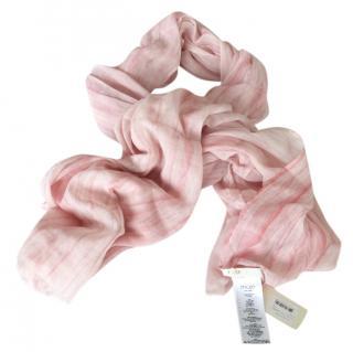 Maje blush pink scarf