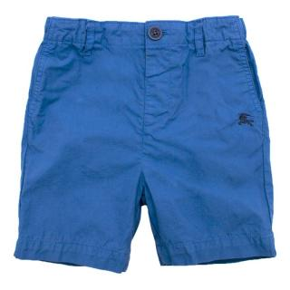 Burberry Blue Boy's Shorts