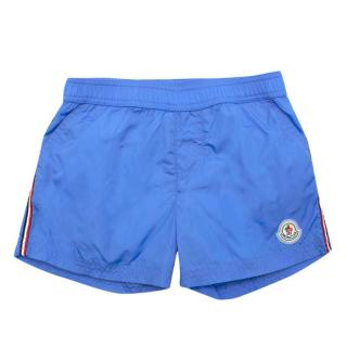 Moncler Boy's Blue Swimming Trunks