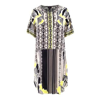 Hale Bob geometric-print dress