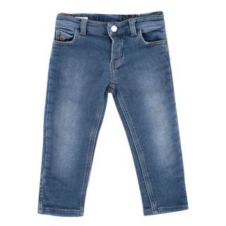 Gucci Kid's Blue Skinny Jeans
