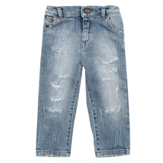 Dolce & Gabbana boys 12-18 months distressed jeans