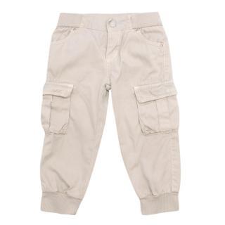 Gucci Beige Boy's Trousers