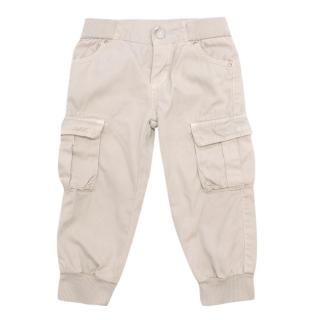 Gucci Beige Boy's Trousers