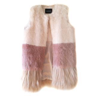 Max & Co Faux fur vest