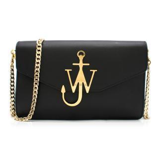 JW Anderson logo-plaque leather cross-body bag - Current Season