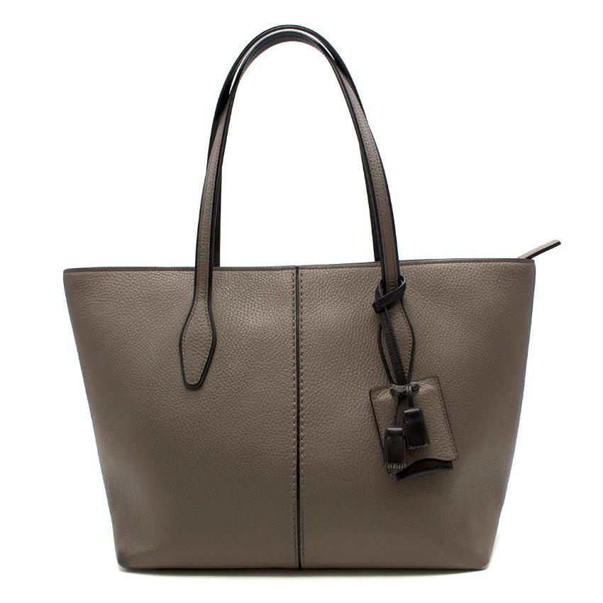 Tod's Joy Taupe Bag Large